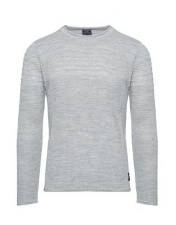 SWETER - SZARY 27004-2